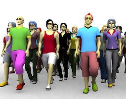 3D people avatars 3D Model