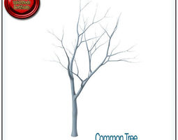 Common Tree STL Printable 3D Model