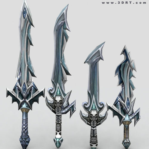 Fantasy arms set3D model