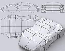 Road rush speedracers 3D Model