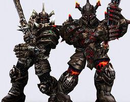 Dark knights 3D Model