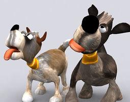 Toonpets puppies 3D Model