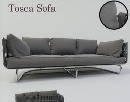 3D model Tribu Tosca Sofa