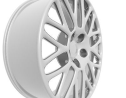 Wheel Rim 3D model vehicle