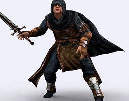 Fantasy Thief 3D Model