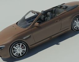 2015 BMW 6-Series Convertible 3D Model