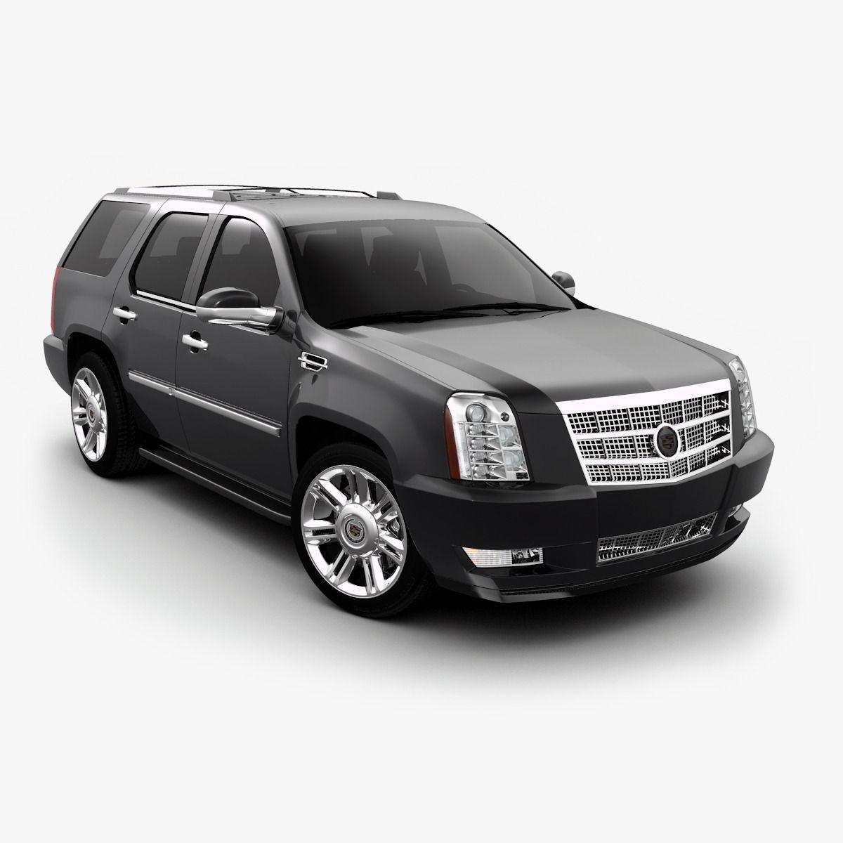 Cadillac Escalade 3D Model .max .obj .3ds