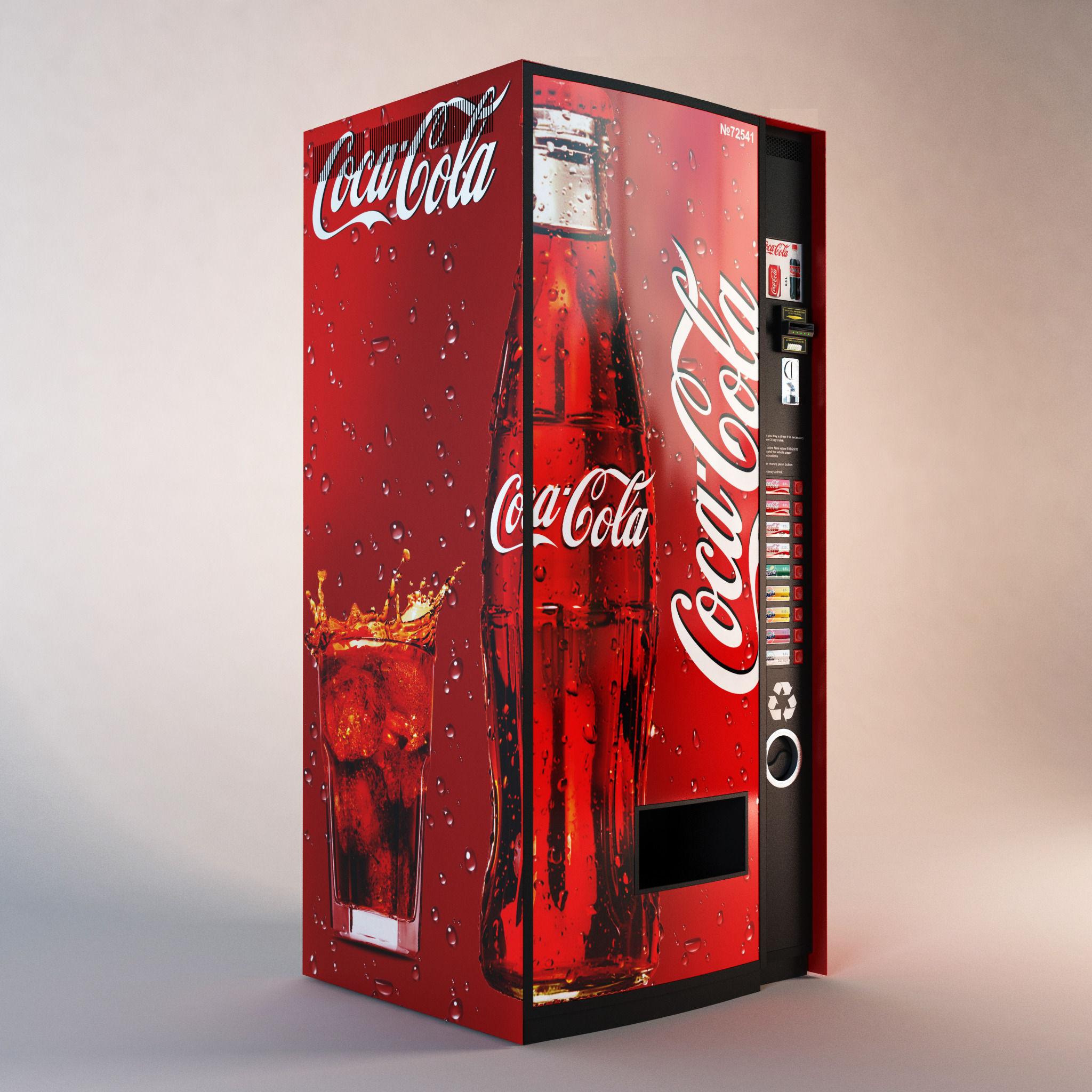 Coca cola  Vending Machine