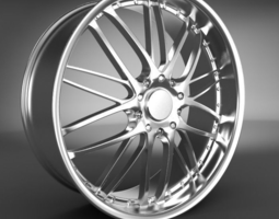 Wheel Rim tire rims 3D