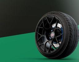hre monoblock automotive -rim only- 3d