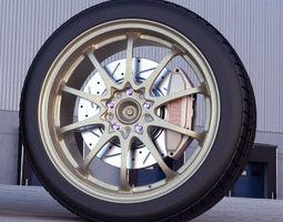 rays ce28n automotive -rim only- 3d model