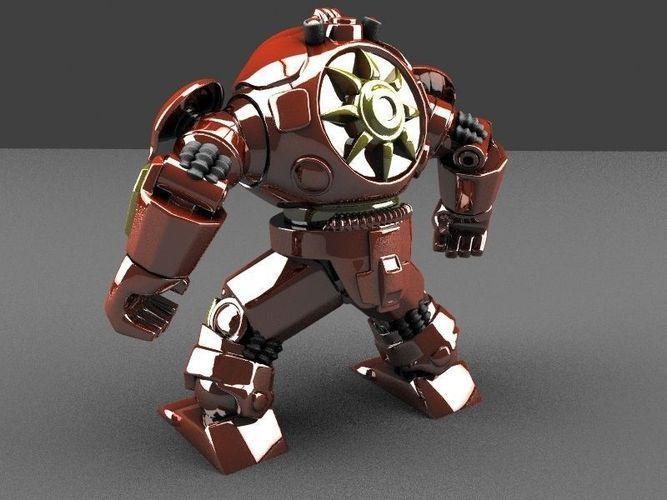 Buster Armor3D model