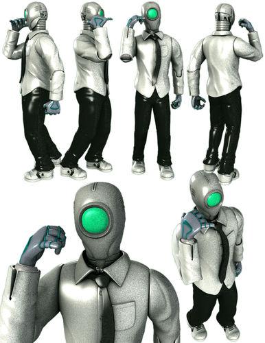 D4VE Robot3D model