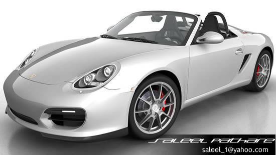 Porsche Boxster  Spyder3D model