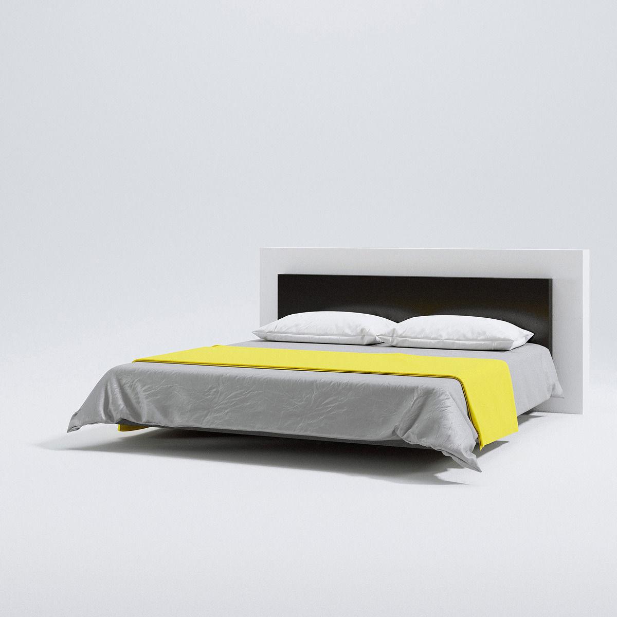 Levitating bed 3d model max obj fbx c4d for Levitating bed