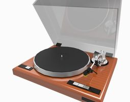 record player VR / AR ready 3d asset