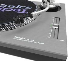 Record deck 3D Model