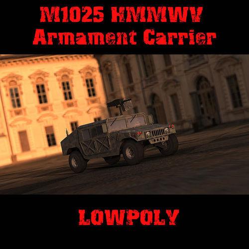 M1025 Humvee3D model