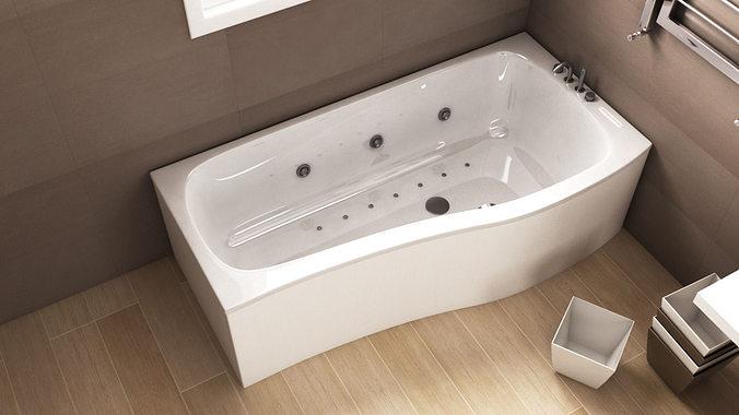 Ideal Standard Create Bathtub N49 3d Cgtrader