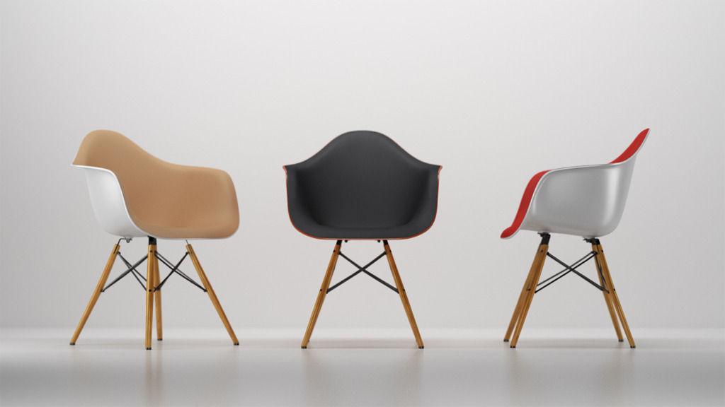... Vitra Eames Plastic Armchair 3d Model C4d ...