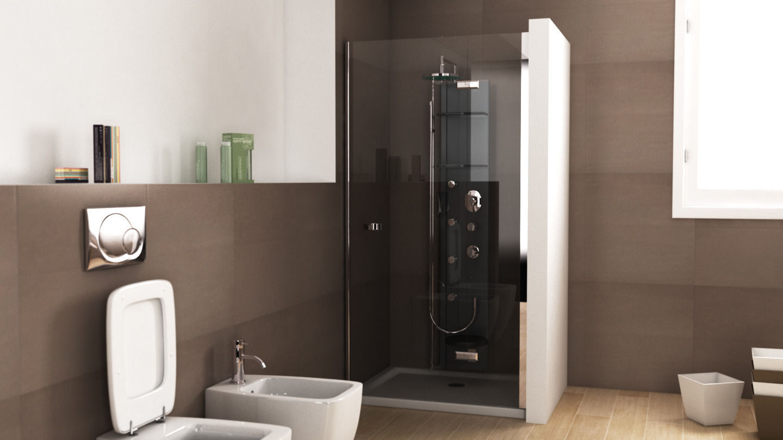 Teuco Endless Shower Flat 2 3d Model C4d