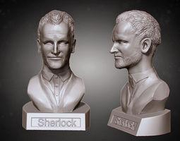 sherlock from elementary 3d print model