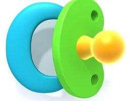 Pacifier 3D Model