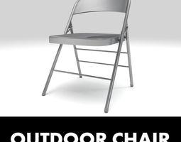 outdoor chair 3D Model