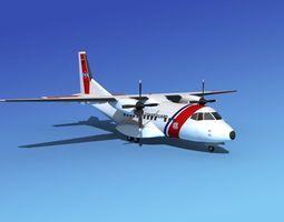 Casa CN-235 US Coast Guard 3D Model