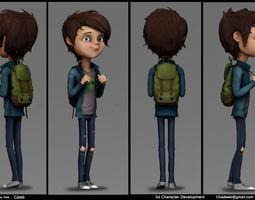 Caleb deigned by Zac Rets 3D model
