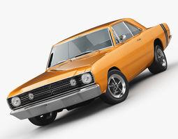 Dodge Dart 1968 3D Model