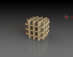 3d printable model belscube