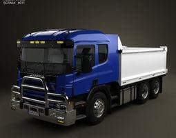 Scania R 420 Tipper Truck 2004 3D