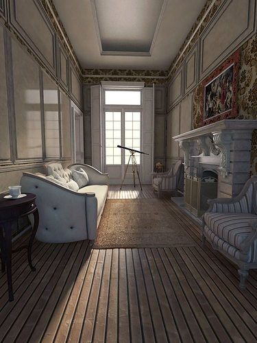 Neoclassical apartment interior 3d model max for Apartment 3d model