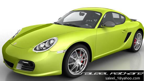 Porsche Cayman R 20123D model