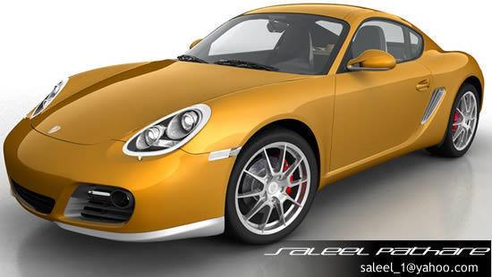 Porsche Cayman S 20123D model