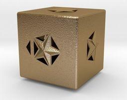 3d printable model Dice toys valentine-challenge