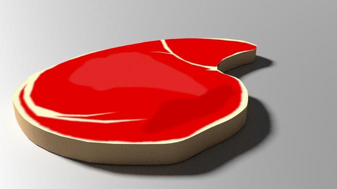 Cartoon Meat3D model