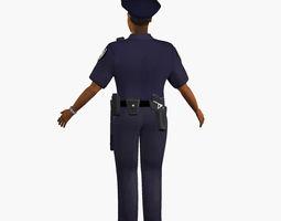 policeman 3D model