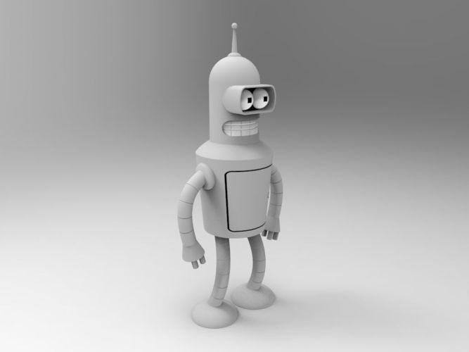 futurama 3D Models