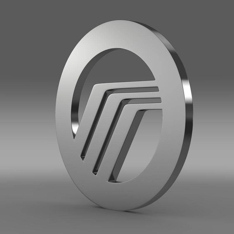 Mercury Logo 3d Cgtrader