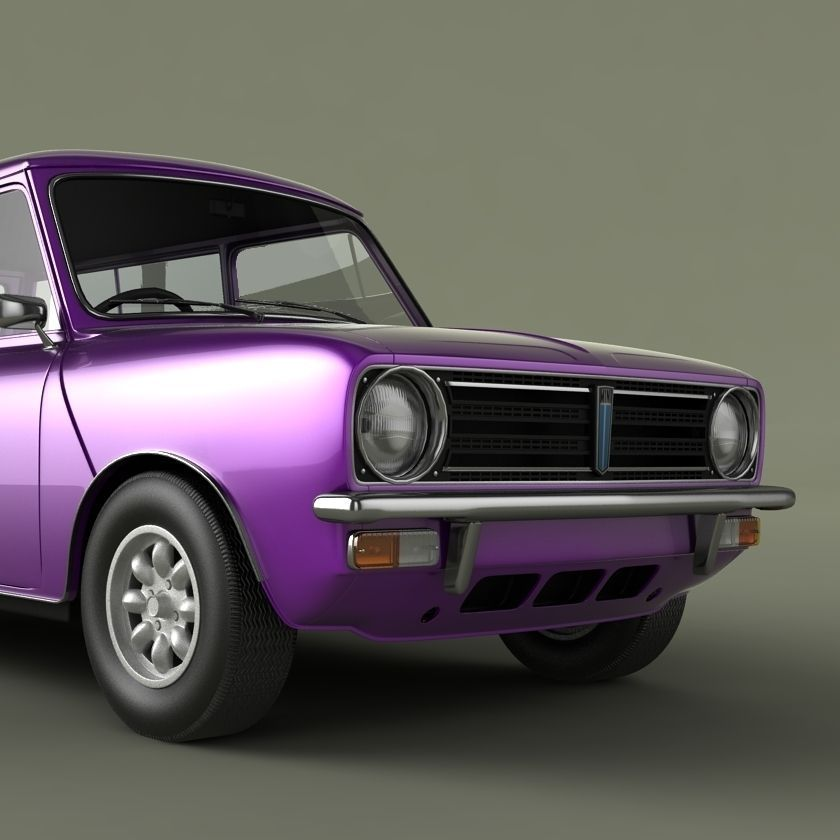 austin mini clubman estate 3d model max obj. Black Bedroom Furniture Sets. Home Design Ideas