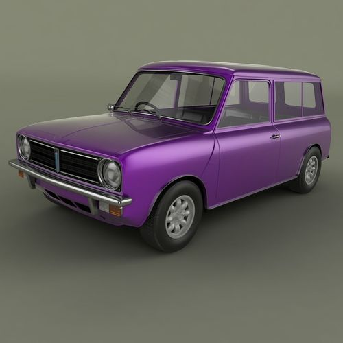 Austin Mini Clubman Estate3D model