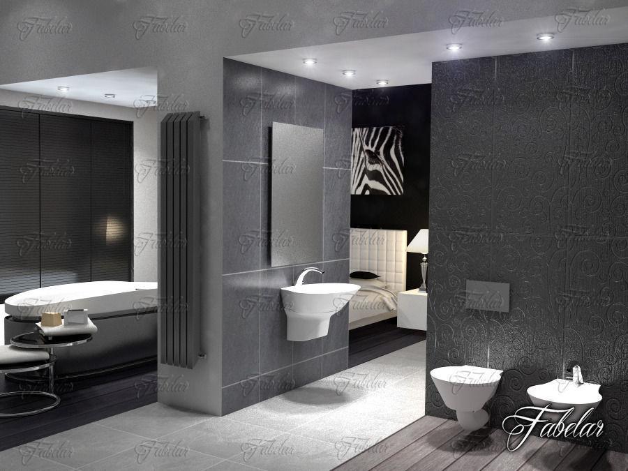 sanitary 3D model Bathroom | CGTrader on Bathroom Model  id=88037