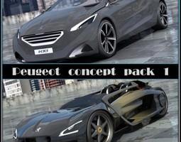 Peugeot Concepts 1 2 0 3D