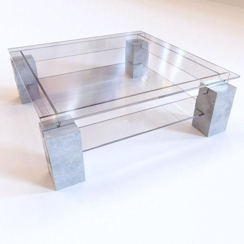 Roche Bobois - Tenere Coffee Table3D model