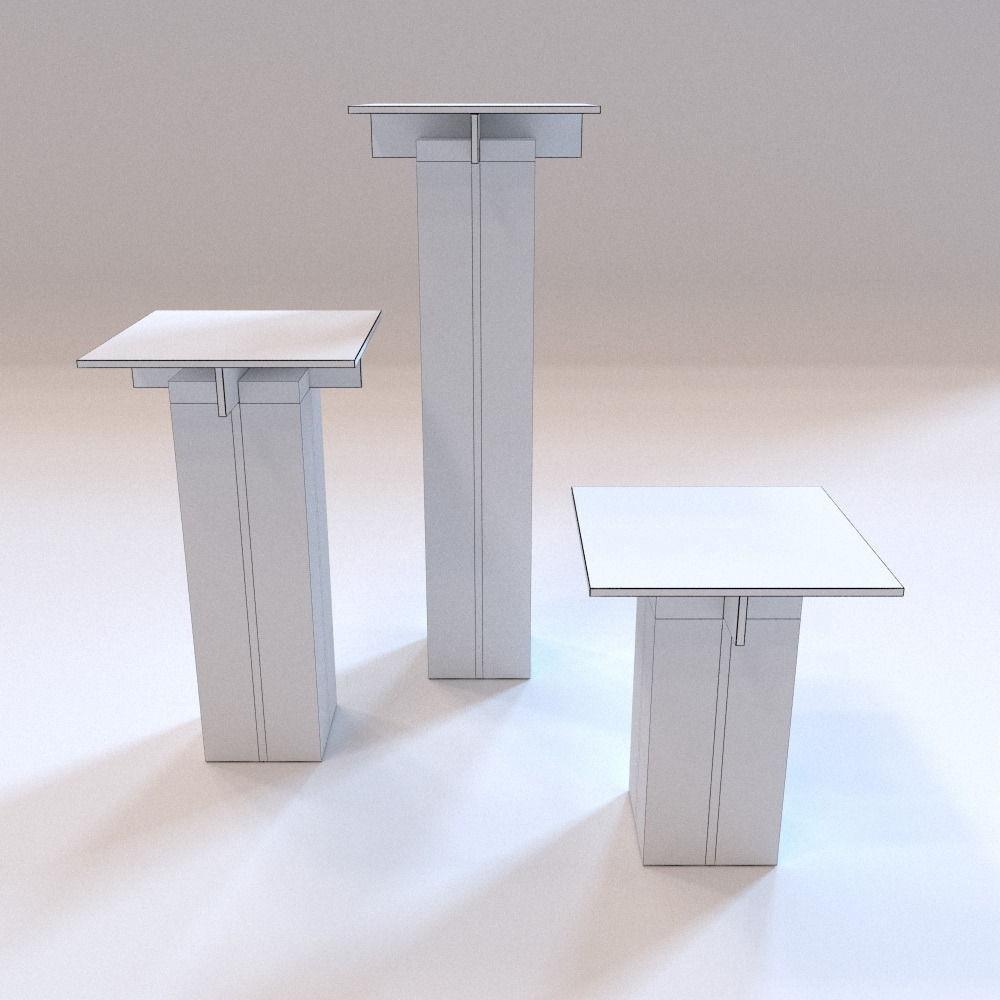 Small Furniture Tenere Stools VR