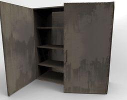 3D asset Cabinet metal