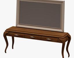 Dresser Set 004 3D Model