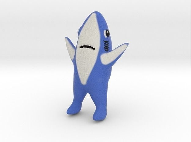 shark meme 3d model stl wrl wrz 1